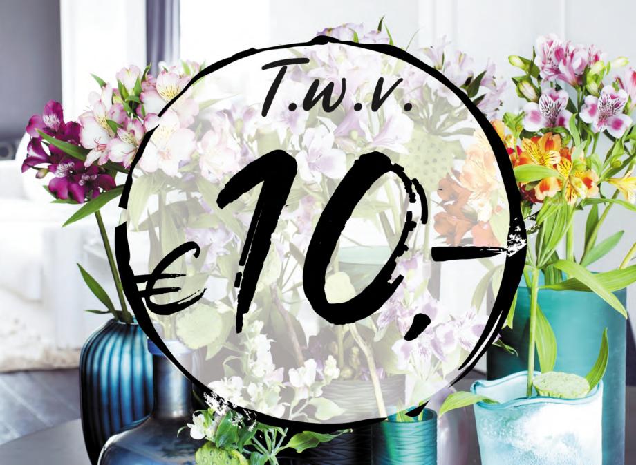 10 euro cadeaubon bloemen