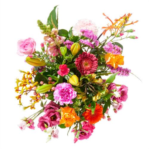 bloemen vrolijk
